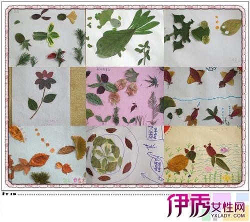 【图】树叶粘贴画 让你用树叶也能做出美丽的画