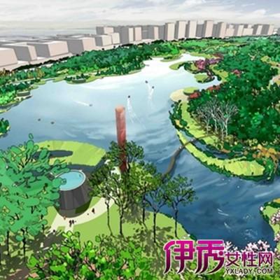 【图】欣赏园林鸟瞰图手绘图片 体会江南园林魅力