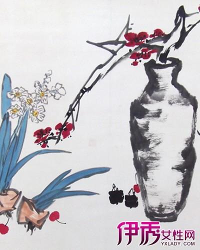 【国画花瓶】【图】极具收藏价值的国画花瓶