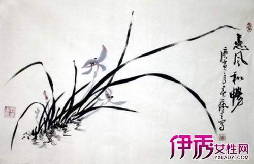 【兰花 写意】【图】中国兰花写意画法步骤