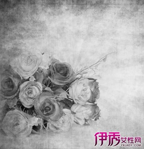 【玫瑰花束素描】【图】玫瑰花束素描画法怎么画?