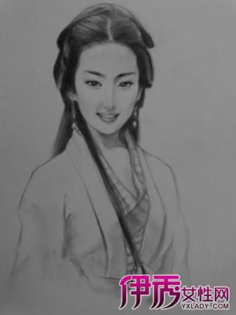 【图】欣赏古装素描漫画人物 汉服影响了整个汉文化圈