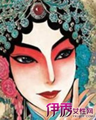 【彩铅画人物漫画素描】【图】彩铅手绘京剧人物大
