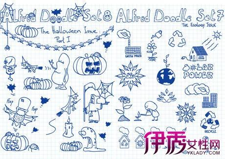 【日记简单手绘插画】【图】小清新日记简单手绘插画