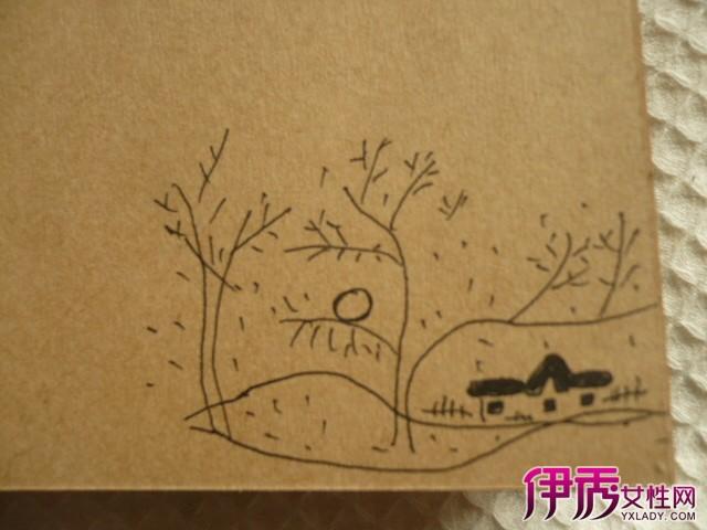 【日记简单手绘插画】【图】小清新日记简单手绘插