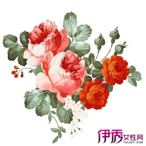 【玫瑰花水墨画】【图】玫瑰花水墨画