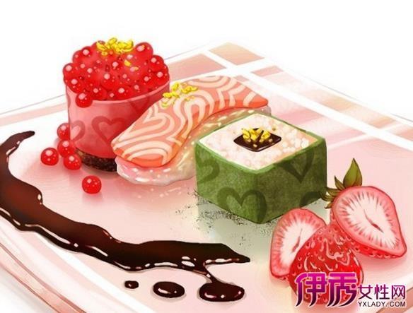 【日本手绘美食插画】【图】日本手绘美食插画作品