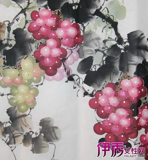 【图】名家国画写意葡萄图片欣赏品味 领略大师风范