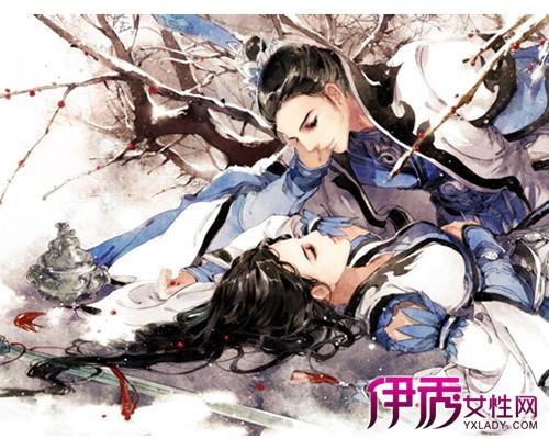 【图】鉴赏古风情侣手绘图片 介绍中国风手绘