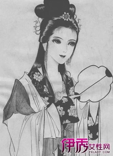 古装美女的素描画法大全 6个技巧教你画出绝世美女
