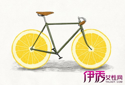 【图】柠檬手绘小清新插画 几个