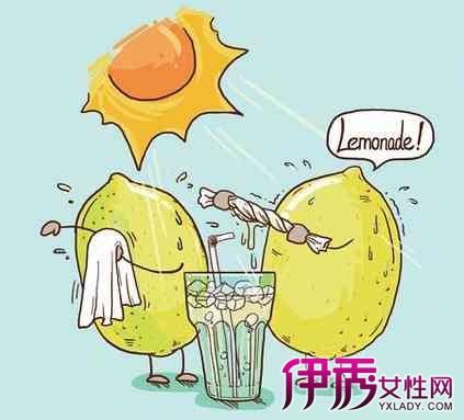 【柠檬手绘小清新插画】【图】柠檬手绘小清新插画