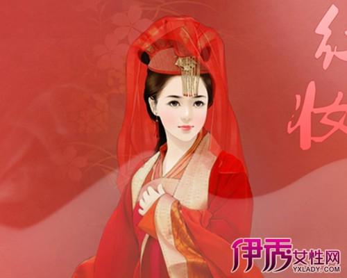 【图】古代新娘手绘插画展示