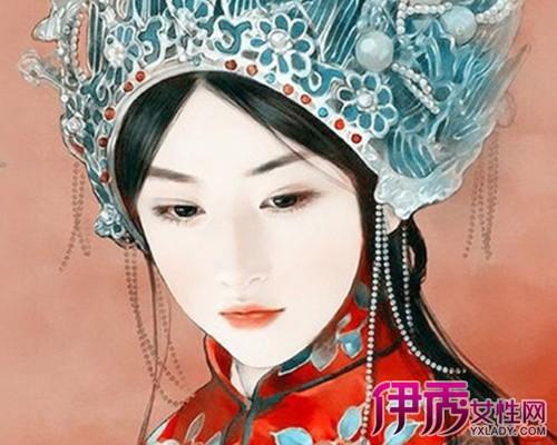 【图】古代新娘手绘插画展示 手绘的表现方法你了解吗