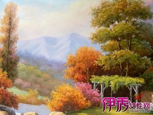 【客厅欧式风景油画贴图】【图】客厅欧式风景油画