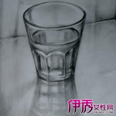 素描杯子图片图片