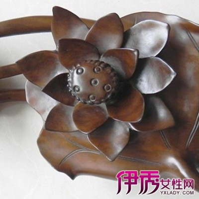 【木雕荷花荷叶】【图】展示木雕荷花荷叶图片