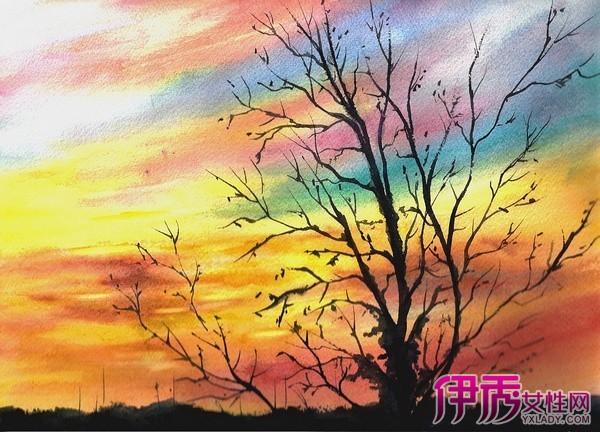 【图】好看的风景水彩画 4幅水彩画足显艺术