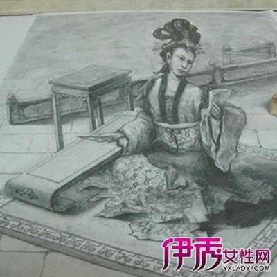 【图】立体画图片手绘素描图片欣赏 6招教你学会手绘立体画