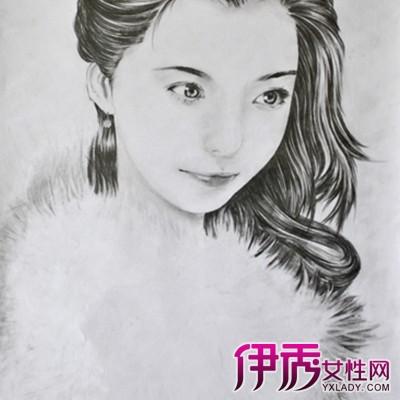 【图】侧面女生头像素描图片欣赏 教你怎样学会素描