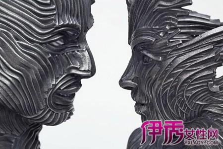 国外创意抽象雕塑图片大全 揭秘中西雕塑的区别