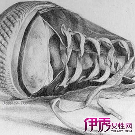 鞋子素描图片介绍 5个步骤教你如何素描画鞋子