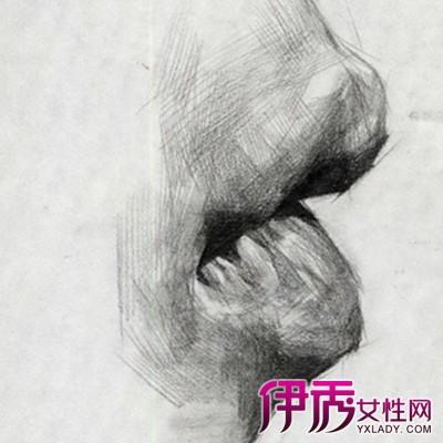 【素描嘴巴的画法】【图】展示素描嘴巴的画法图片