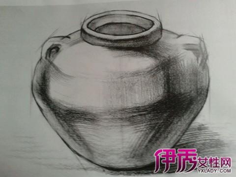 素描罐子静物 质感应怎么表现