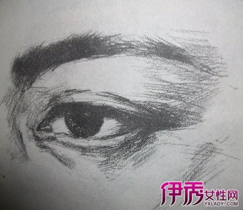 【图】素描眼睛画法步骤图片 认真捕捉神态是关键