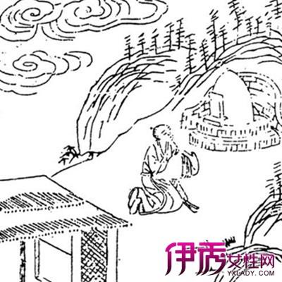 【中国风黑白手绘插画】【图】欣赏中国风黑白手绘