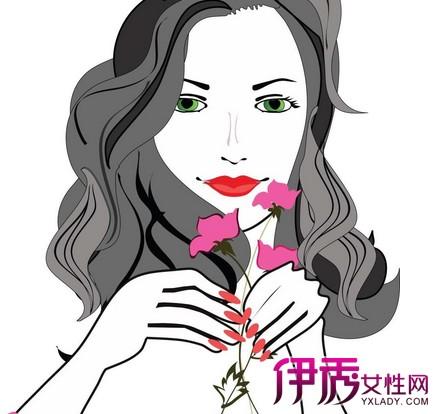【彩色素描女生头像】【图】彩色素描女生头像图片