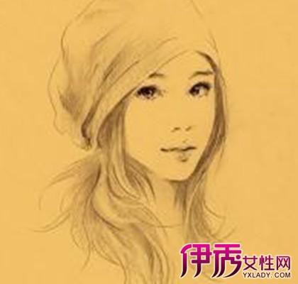 【素描头像女生】【图】一起欣赏素描头像女生美貌