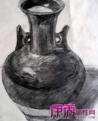 是圆柱体的变体结构,我们在市场上看到的标准的花瓶是左右两边均等