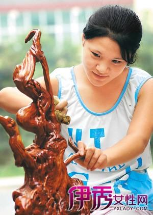 昌都木雕根雕打磨方法图解|木雕根雕制作工具