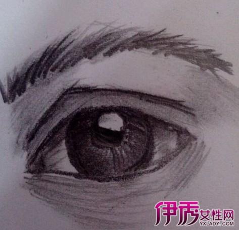 素描眼睛画法你知道吗 简单的步骤教你快速学会图片