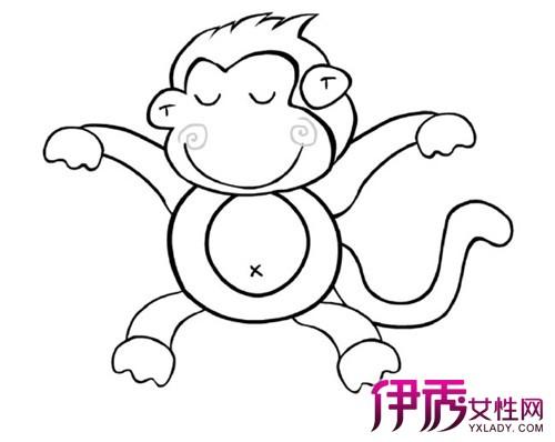 欣赏可爱的猴子简笔画图片 从3个方面教你绘画方法
