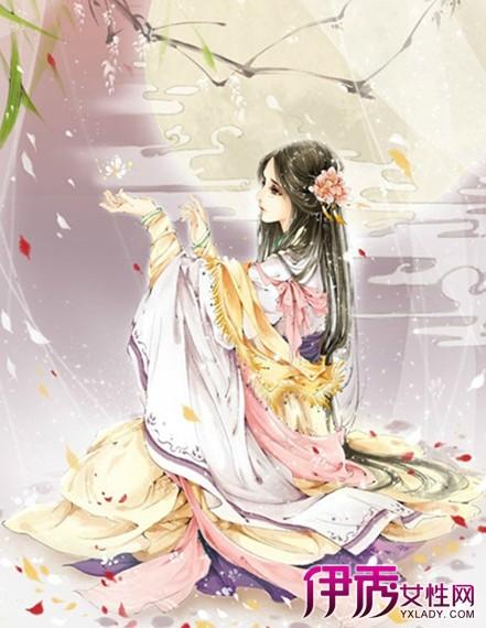【古风人物手绘淡雅女】【图】古风人物淡雅手绘美女