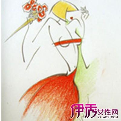 【时装画手绘图】【图】时装画手绘图欣赏
