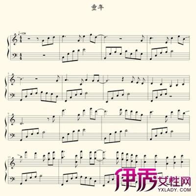 琴谱子-童年钢琴谱 带你进入童年的世界
