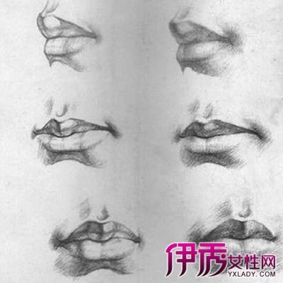 【素描嘴巴】【图】展示素描嘴巴图片