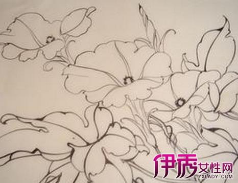 【图】花的简笔画图片大全素描 如何快速学习简笔画-砚台简笔画图片