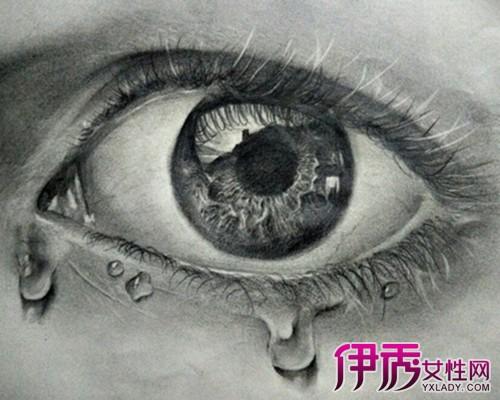【图】盘点流泪眼睛素描画法 为你介绍素描的艺术特点及技法种类