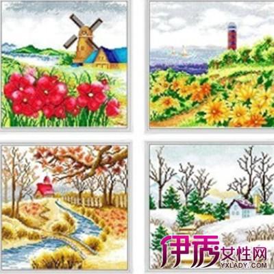 【图】儿童春夏秋冬水粉画欣赏 学习具体着色方法和步骤