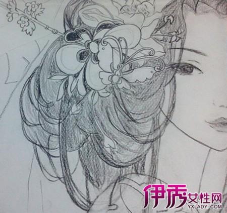 【古风黑白手绘铅笔画】【图】赏古风黑白手绘铅笔画