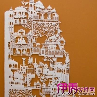 【开合式立体纸雕图纸】【图】开合式立体纸雕图纸