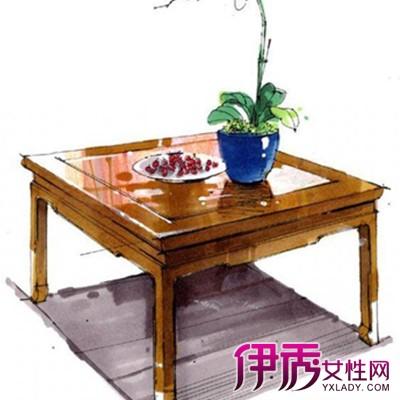 环艺欧式沙发单体手绘