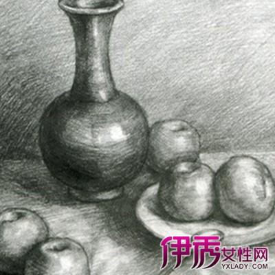 【图】欣赏静物素描作品 为你介绍素描的几个艺术特点