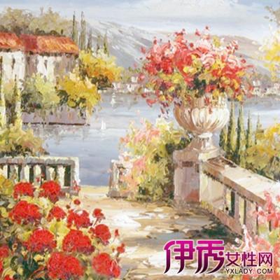 【欧式风景油画】【图】欣赏好看的欧式风景油画图片