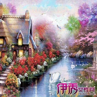 【图】欣赏好看的欧式风景油画图片