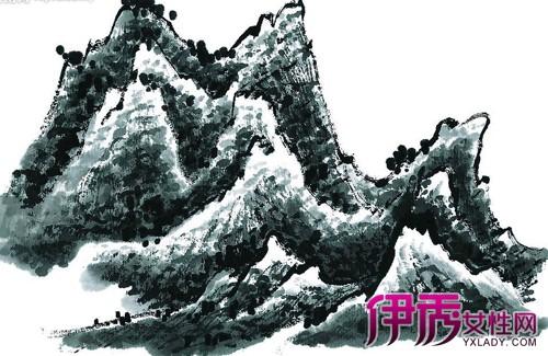 中国古风绘画,分工笔画和写意画两科,也有兼工带写.